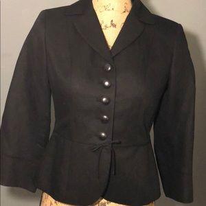 Ann Taylor Loft Black Blazer Size 0P